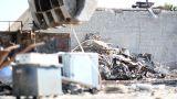 Large Scrap Metal Recycling Center Scrap Metal Recycling Yard Footage
