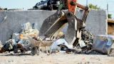 Large Scrap Metal Recycling Center Scrap Metal Recycling Yard stock footage