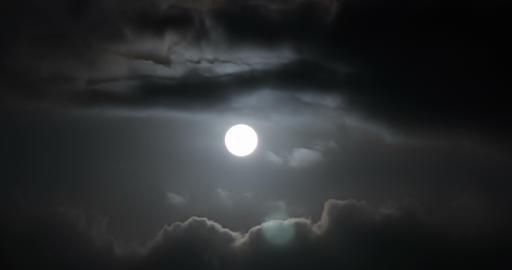 Moon 1 Stock Video Footage