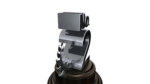 Number Trophy Prize No Fw HD Stock Video Footage