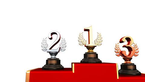 Podium Prize Trophy Abw HD Animation
