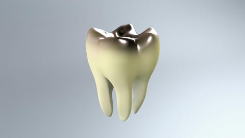 bad tooth white background Animation