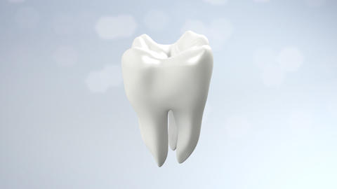 health tooth flare Stock Video Footage