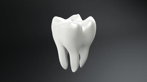 tooth contrast Animation