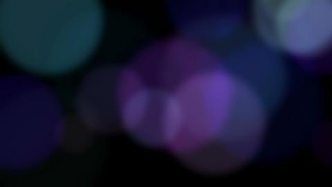 Defocused light circles Stock Video Footage