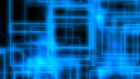 Abstract blue rectangles Animation