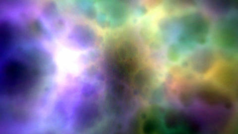 Abstract color clouds Stock Video Footage