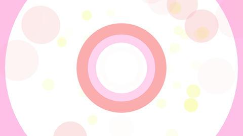 2D Pattern Donut D HD Stock Video Footage
