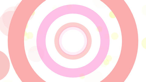 2D Pattern Donut D HD Animation