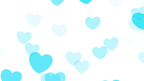 2D Pattern Pan Heart B HD Stock Video Footage