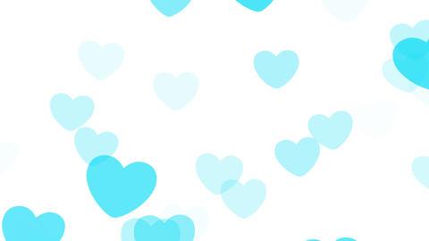 2D Pattern Pan Heart B HD Stock Video Footage