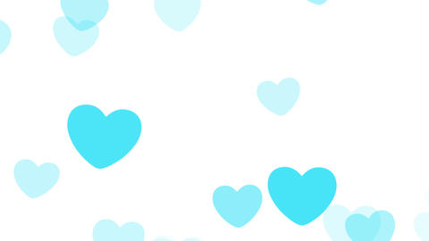 2D Pattern Pan Heart B HD Animation