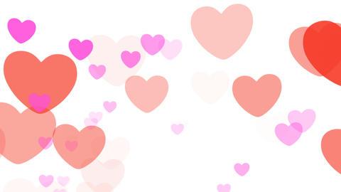 2D Pattern Pan Heart D HD Stock Video Footage