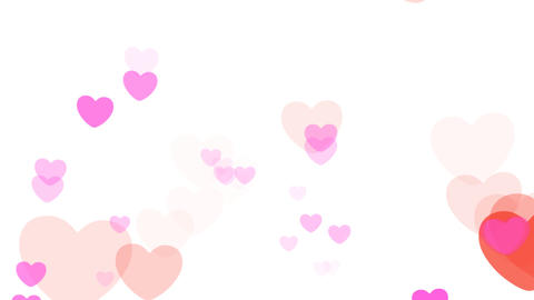 2D Pattern Pan Heart D HD Animation