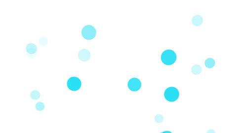 2D Pattern Wave Dot A HD Stock Video Footage