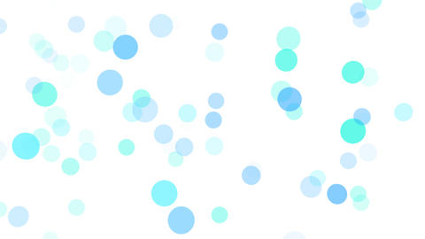 2D Pattern Wave Dot B HD Animation
