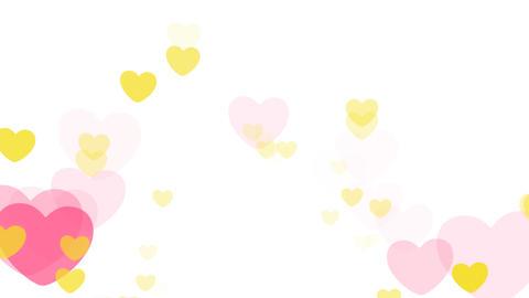 2D Pattern Wave Heart D HD Stock Video Footage