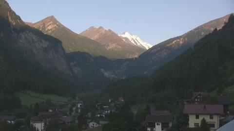 Alpine view Stock Video Footage
