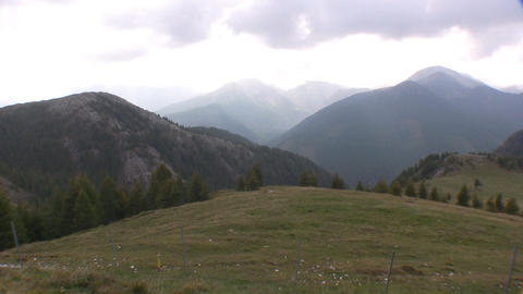 Alpine view Stock Video Footage