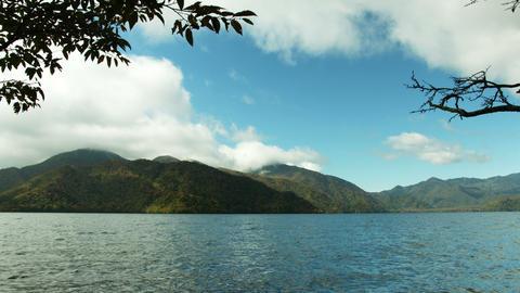 Cyuzenjiko in autumn side view Footage