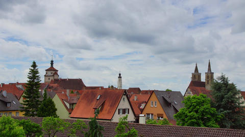 Rothenburg Ob Der Tauber stock footage
