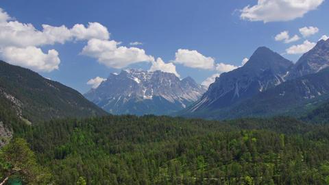 Landscape in Tirol Footage