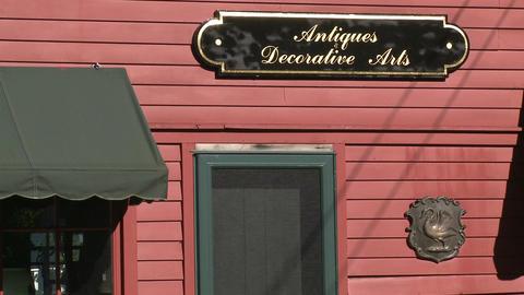 Antique boutique shop (1 of 1) Footage