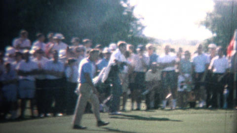 1962 - Arnold Palmer Playing In Golf Tournament Footage
