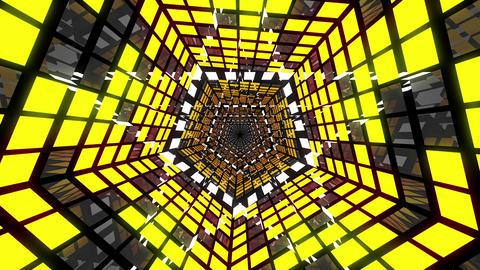 VJ Loop Pentagonal Tunnel 02 Animation