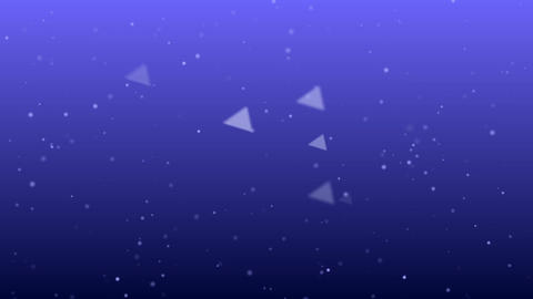Triangle And Particle Background #2-4 stock footage