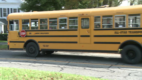School bus pick-up (3 of 3) Live Action