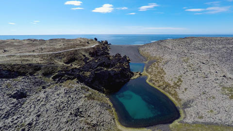 Deep Lagoons and Lava Wonderland Footage
