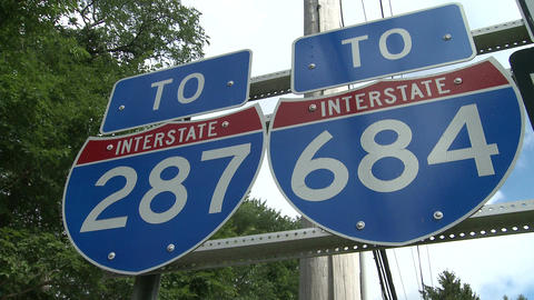 Interstate Signs (2 of 2) Footage