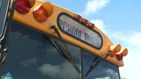 Yellow school bus (1 of 2) Footage