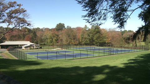 Tennis courts (1 of 2) Footage