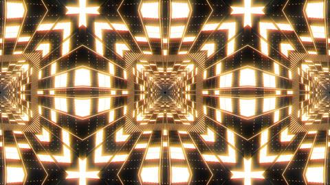 VJ Loop Abstract Warm Lights 15 Animation