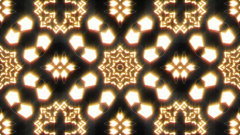 VJ Loop Abstract Warm Lights 18 Animation
