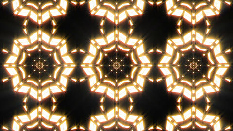 VJ Loop Abstract Warm Lights 22 Animation