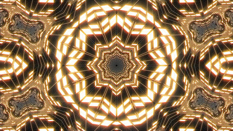 VJ Loop Abstract Warm Lights 23 Animation