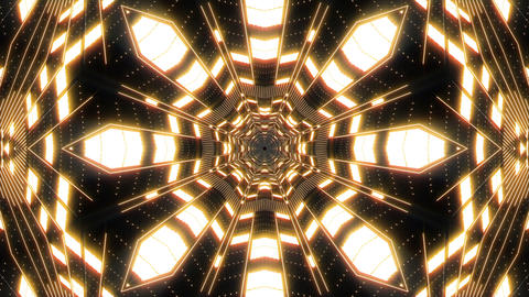 VJ Loop Abstract Warm Lights 25 Animation