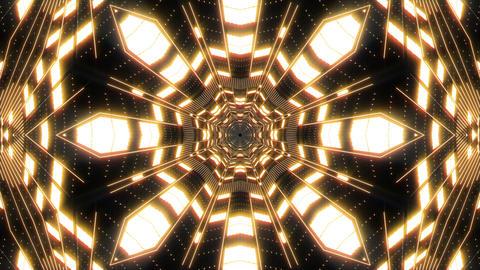 VJ Loop Abstract Warm Lights 25 Animation