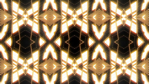 VJ Loop Abstract Warm Lights 27 Animation