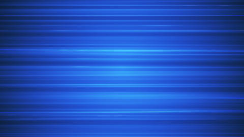 Broadcast Horizontal Hi-Tech Lines, Blue, Abstract, Loopable, HD Animation