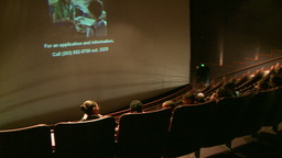 Crowds enjoying a nature documentary (3 of 6) Live Action