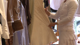 High End Fashion Boutique (4 Of 4) stock footage