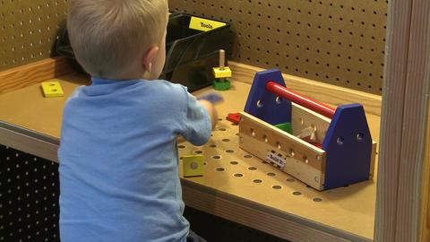 Children enjoying exhibits (4 of 9) Footage