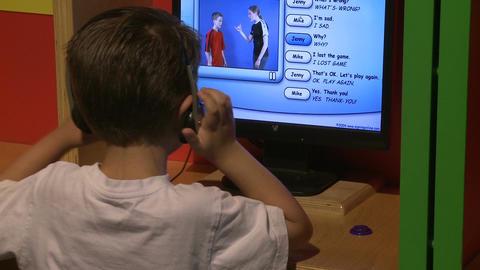 Children enjoying exhibits (5 of 9) Footage