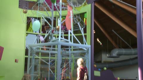 Children enjoying exhibits (1 of 9) Footage