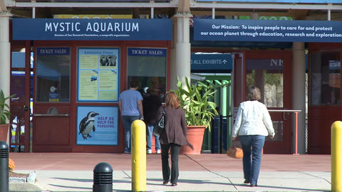 Mystic Aquarium Entrance (2 of 6) Live Action