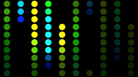Color Circles Background #1 stock footage